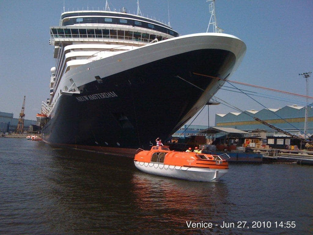 Safety Is Always First Aboard Nieuw Amsterdam Holland America Blog