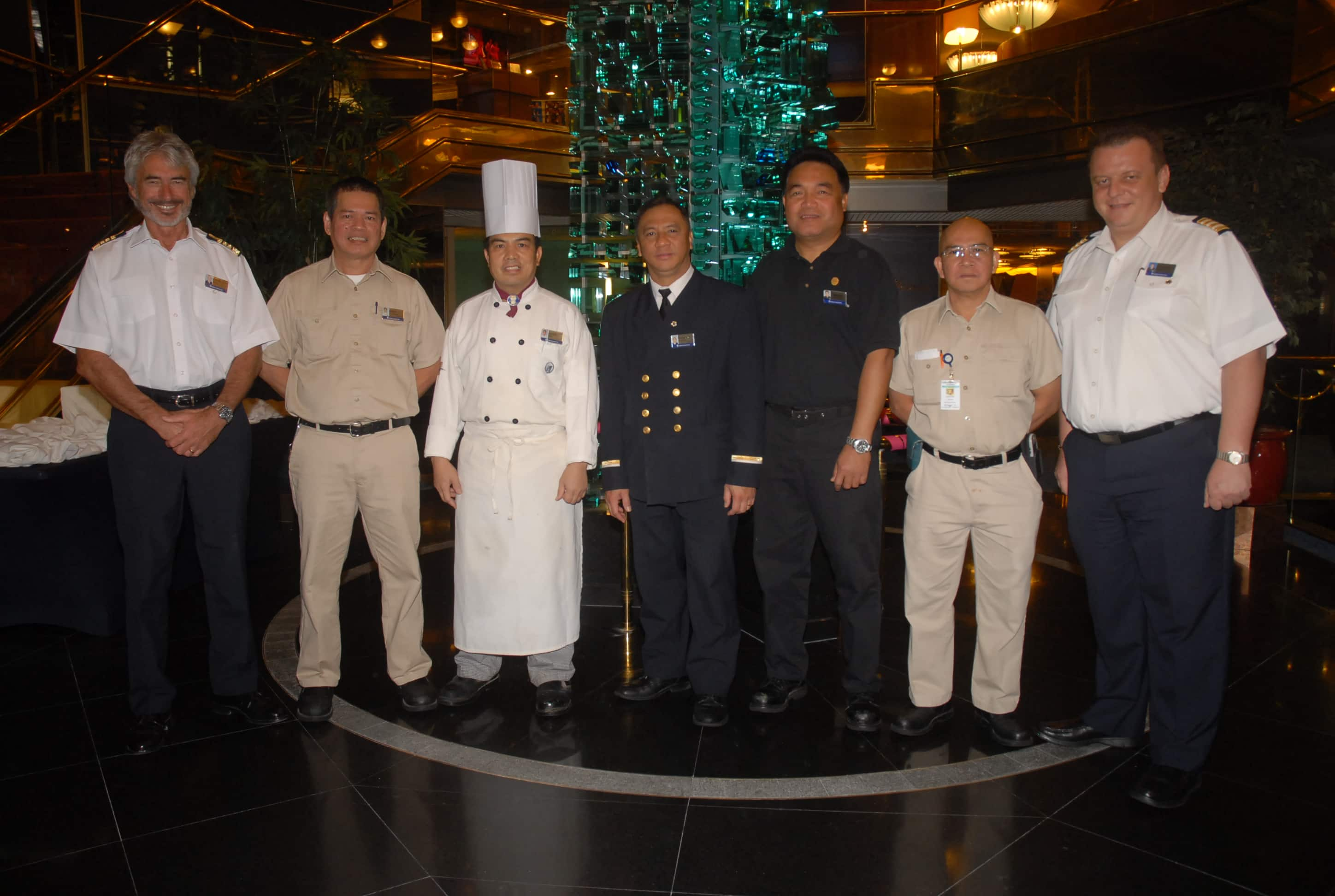 Maasdam Honors Exemplary Service Holland America Blog - Dining room manager