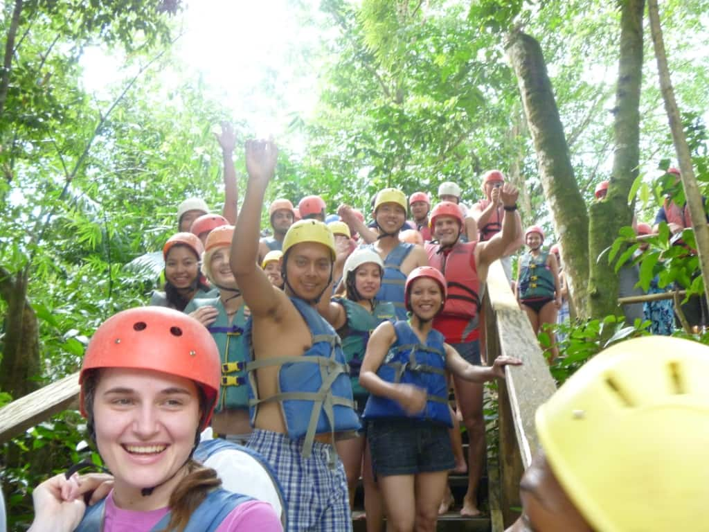 Explore The Beauty Of Caribbean: Maasdam Crew Goes River Tubing In Dominica