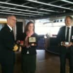 iPhone iBlog: Plaque Exchange at Helsingborg, Sweden
