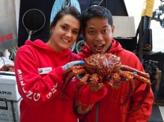 Catching Crabs On The Deadliest Catch Crew Tour Holland