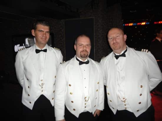 From left: Chief Engineer Stefan Dullaert, Facilities Manager Fraser Cunningham and SEH Officer Jason Grimes.