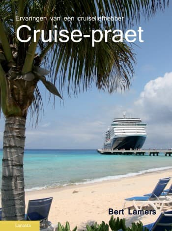HAL's Noordam on the cover page of Bert Lamers' new cruise ship book.