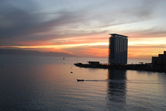 A view from my stateroom in Puerto Vallarta.