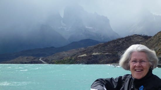 On the Torres del Paine National Park excursion.