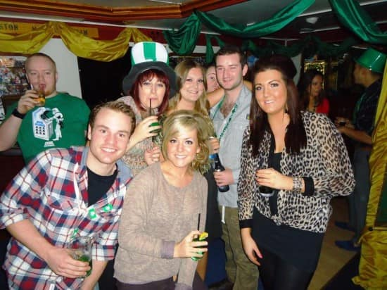 St. Patrick's Day on Prinsendam.