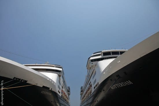Rotterdam and Statendam in Huatulco, Mexico.