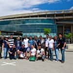 Eurodam Crew Tours Camp Nou Stadium in Barcelona