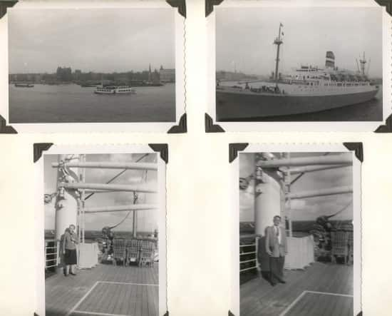 Recounting Family History Aboard Four HAL Ships