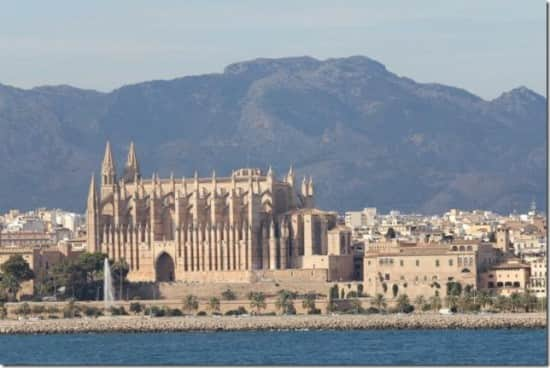 This view of the Cathedral you only get on a Holland America Line cruise.