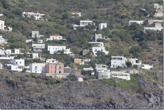 A little village built on the volcano.