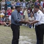 Oosterdam's Plaque Exchange Ceremony at Easo, Lifou