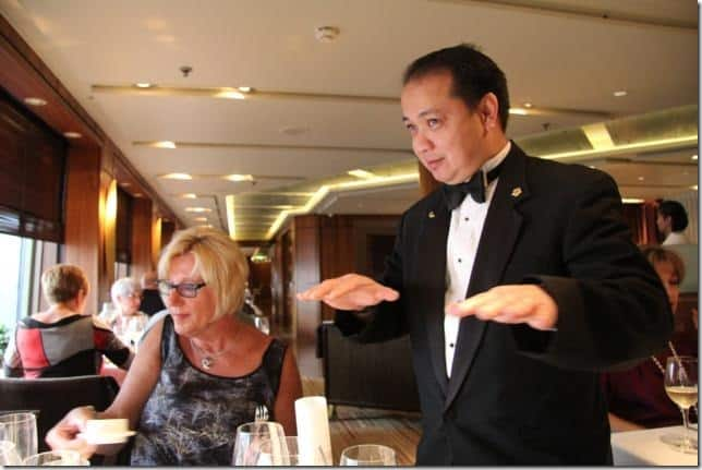Explanation of dishes by Cellar Master Alvin Pormicelle.  sc 1 st  Holland America & Cruise Diary: Cellar Masteru0027s Dinner | Holland America Blog