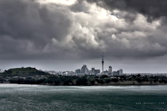 Csaba's Aperture: Sailing Away from Auckland