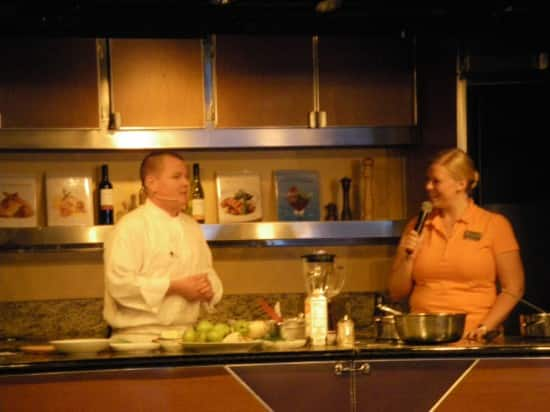 Culinary Arts Center demonstration with guest chef Jason Franey of Canlis Restaurant.