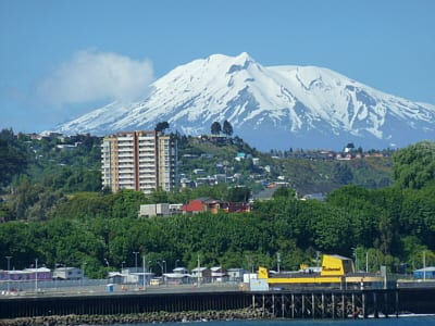Puerto Montt, as seen from the ship.
