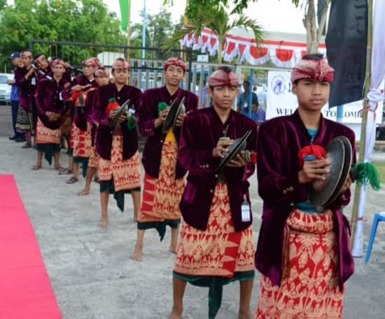Balinese Gamalan Orchestra from Lombok.