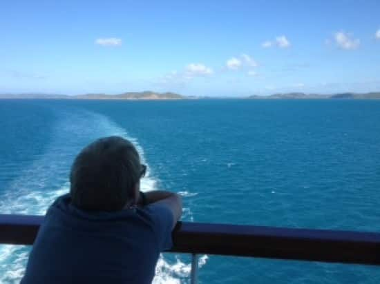Just having rounded the tip of Australia with great commentary by our on board pilot.