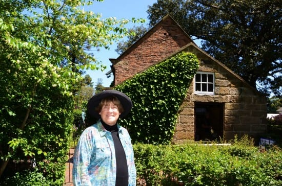 At Cook's Cottage.
