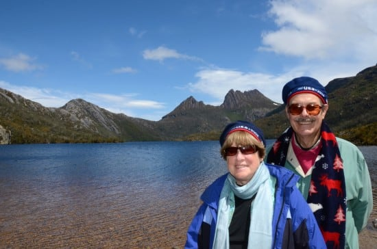 At Cradle Mountain and Dove Lake.
