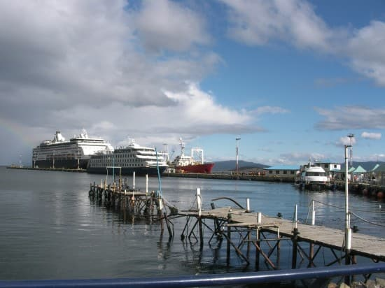 South Chile on Veendam