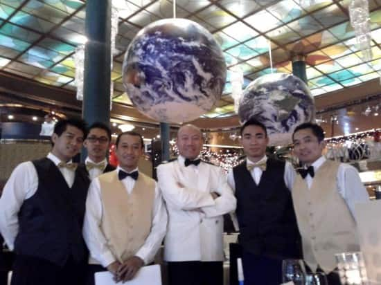 Dining Room Team on New Year's Eve.