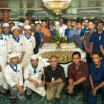 Prinsendam's New Hire and Service Award Luncheon