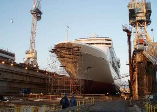 More Photos from Statendam's Drydock