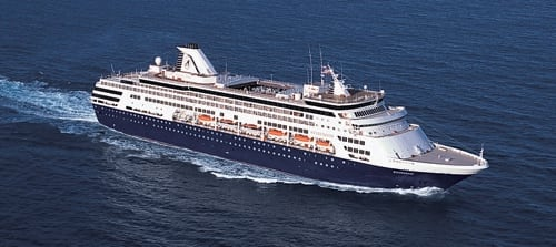 ms Statendam at Sea