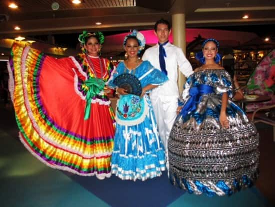 Mexican dancers.