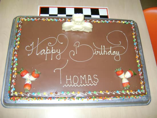 Happy 1st Birthday Thomas Holland America Blog