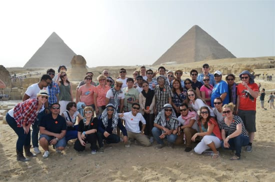 Prinsendam Crew Tours Egypt And Israel