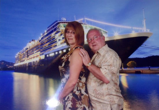 This picture is from the ship photographer aboard Zuiderdam. — Oscar and Sylvia Huyghebaert