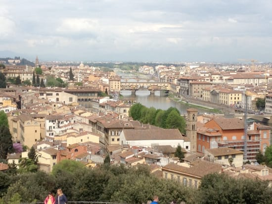Firenze, Tuscany ... What a wonderful place! We Enjoyed both the scenery and the food. The tour drive had taken us 2 hours from the ship and allowed 5 hrs of sightseeing ... A long day full of great memories.