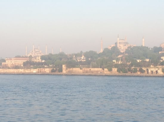 Istanbul arrival.