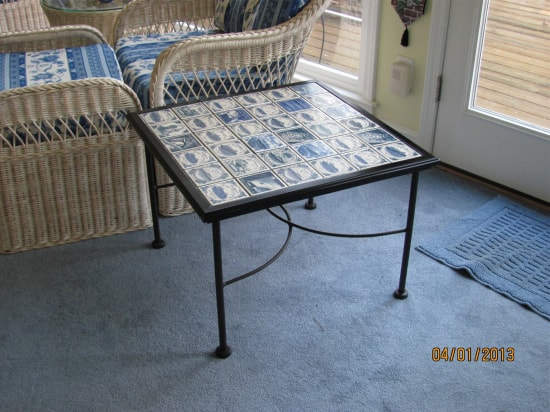 A Creative Tile Table
