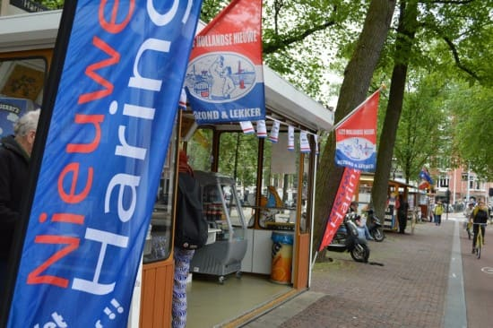 The nieuw haring stall