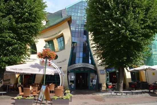 The Curved House in Sopot