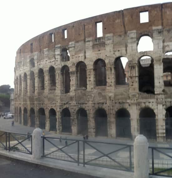 The Colosseum in Rome. No name given, but too impressive not to use.