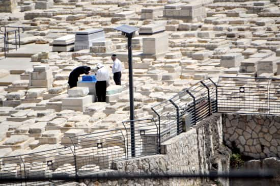 The largest Jewish cemetery in the world.