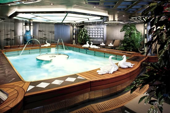 Take a dip in the Hydro Pool and relax your muscles.