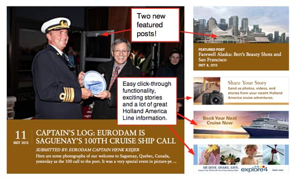 How To Navigate The New Holland America Blog Holland America Blog