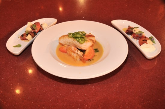 Chef English's dishes.