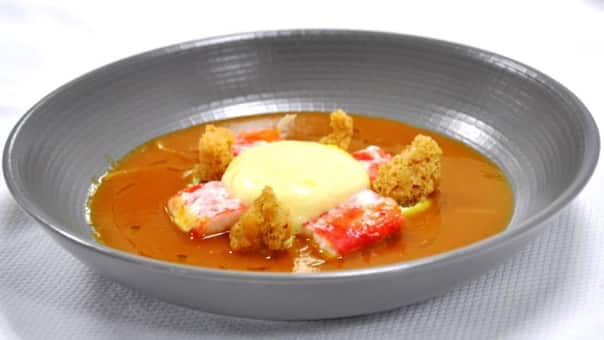 Lobster Bisque.