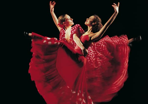 The stunning Flamenco dancers of Barcelona.