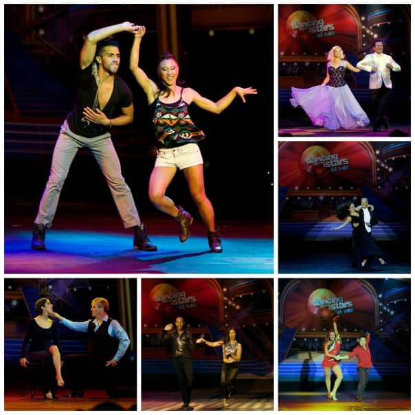 The final 6 perform. Clockwise from top left: Allyse, Omar, Kristin, Randy, Mimi and Todd.