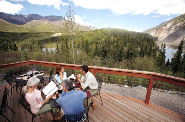 The McKinlet Chalets at Denali provide breathtaking views.