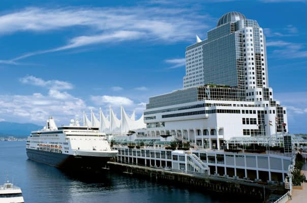 The Pan Pacific Vancouver hotel is conveniently located at the cruise terminal.