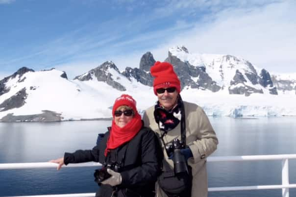 Sharon and Al in Gerlach Strait.