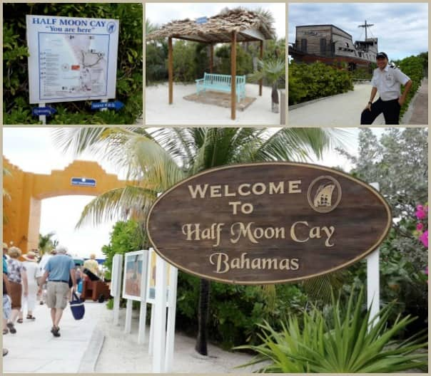 Photo of Half Moon Cay by Komang, who makes an appearance in the upper right photo.